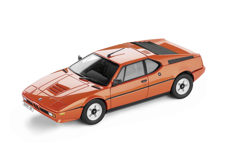 BMW modelbil M1 Herritage Collection